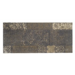 Universal patchwork taupe 67x150 617 Liegend - MD Entree