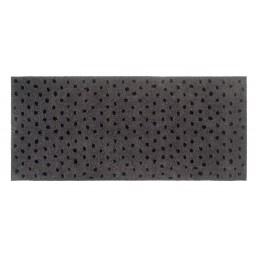 Universal dots pepper 67x150 714 Hängend - MD Entree