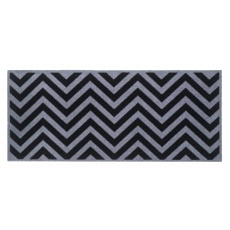 Universal zig zag black 67x150 207 Laying - MD Entree