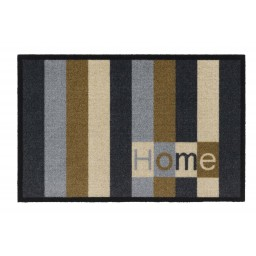Impression home stripes grey 40x60 364 Laying - MD Entree