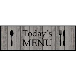Cook&Wash todays menu 50x150 640 Hanging - MD Entree