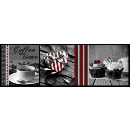 Cook&Wash coffee time grey 50x150 624 Rolled - MD Entree