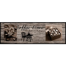Cook&Wash coffee time wood 50x150 642 Rolled - MD Entree