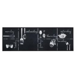 Cook&Wash chalk week calendar 50x150 190 Hanging - MD Entree