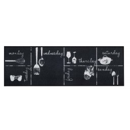 Cook&Wash chalk week calendar 50x150 190 Rolled - MD Entree