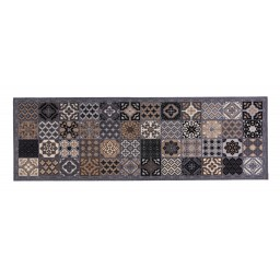 Cook&Wash patchwork tiles grey 50x150 155 Laying - MD Entree