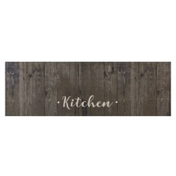 Cook&Wash brown oak kitchen 50x150 695 Laying - MD Entree