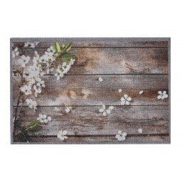 Impression flowers on wood 40x60 160 Laying - MD Entree