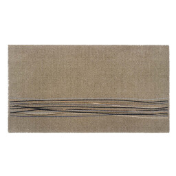 Universal lucky lines beige 67x120 317 Liggend - MD Entree