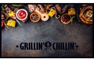 BBQ mat grillin & chillin