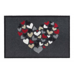 Impression hearts anthra 40x60 377 Liggend - MD Entree
