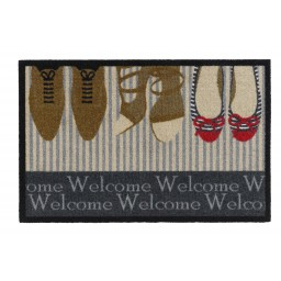 Impression welcome shoes 40x60 389 Liggend - MD Entree
