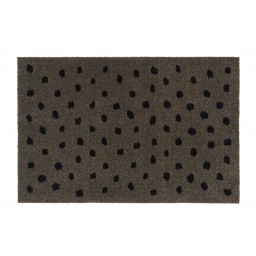 Ambiance dots pepper 50x75 714 Liggend - MD Entree