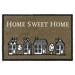 Ambiance home sweet home brown 50x75 796 Liggend - MD Entree