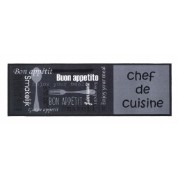 Cook&Wash chef de cuisine grey 50x150 205 Liggend - MD Entree