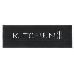 Cook&Wash kitchen black 50x150 207 Liggend - MD Entree