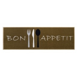 Cook&Wash bon appetit brown 50x150 212 Liggend - MD Entree