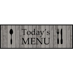 Cook&Wash todays menu 50x150 640 Hangend - MD Entree