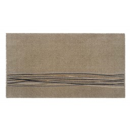 Universal lucky lines beige 67x120 317 Hangend - MD Entree