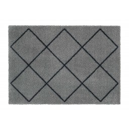 Soft&Deco nordic ashgrey 50x70 614 Hangend - MD Entree