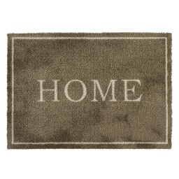 Soft&Deco home taupe 50x70 706 Liggend - MD Entree