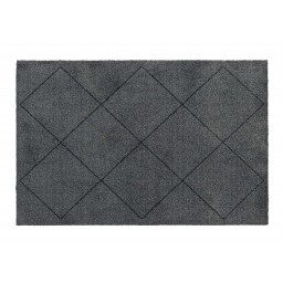 Soft&Deco nordic charcoal 67X100 606 Liggend - MD Entree