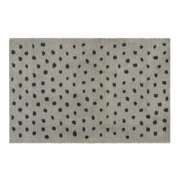 Soft&Deco dots pepper 67X100 714 Hangend - MD Entree