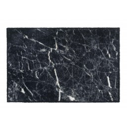 Soft&Deco marble soft black 67X100 107 Liggend - MD Entree