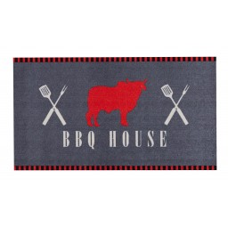 BBQ mat bbq house 67x120 520 Liggend - MD Entree