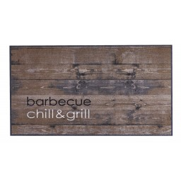 BBQ mat barbecue chill & grill 67x120 300 Liggend - MD Entree